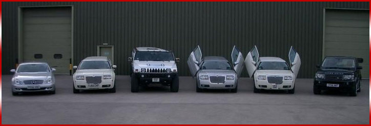 limo hire in the midlands